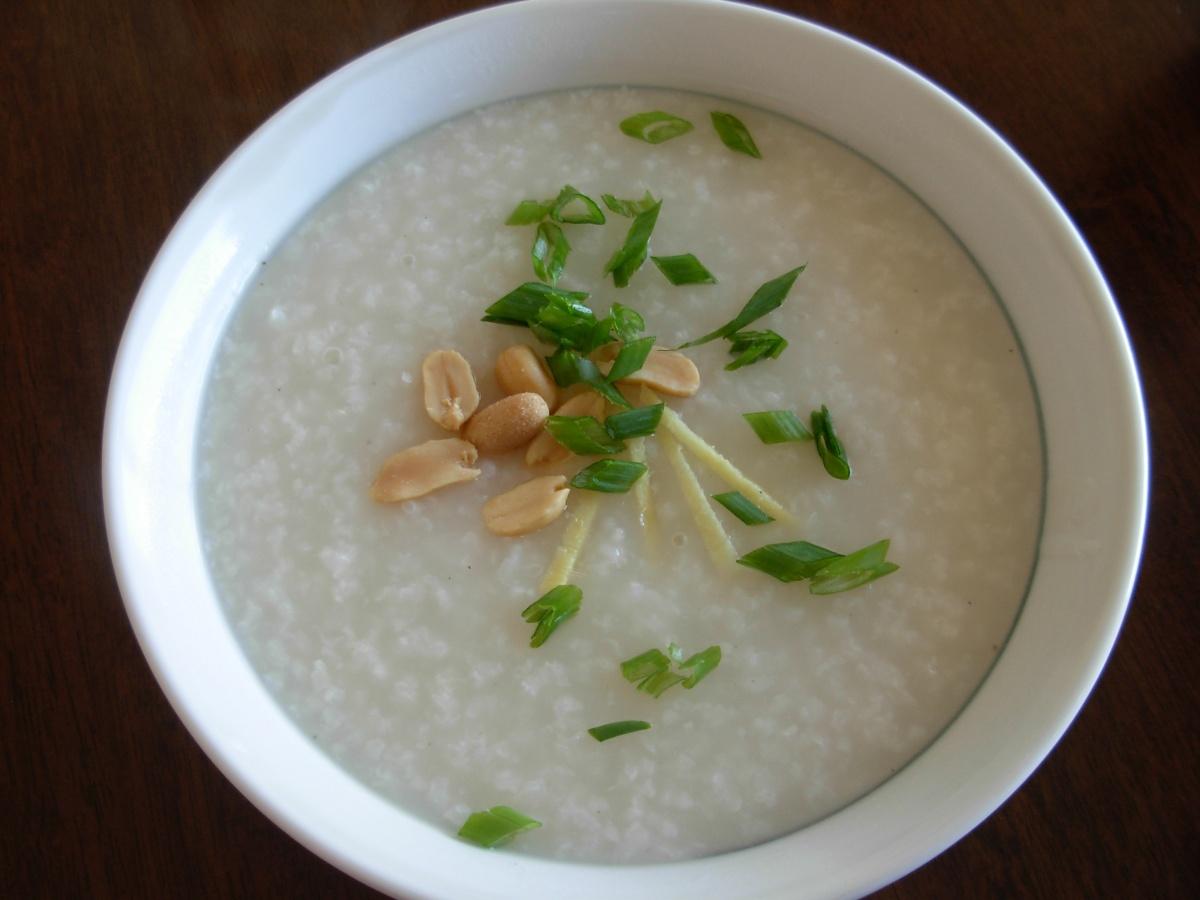 restaurant style congee jook